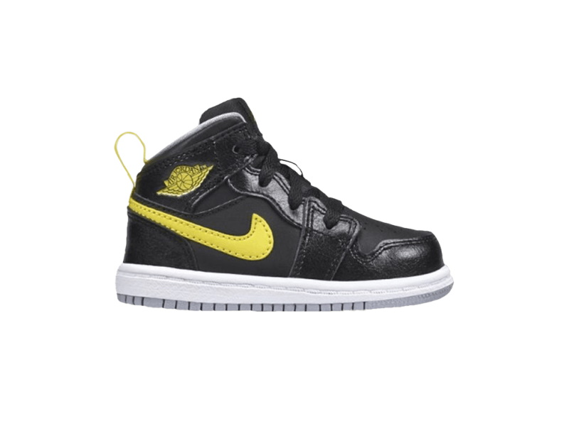 Air Jordan 1 Mid BT Vibrant Yellow