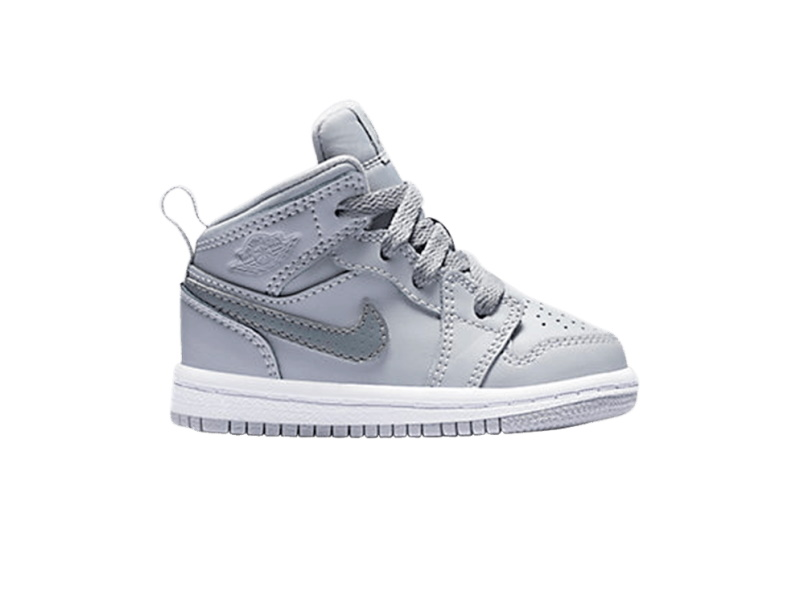 Air Jordan 1 Mid BT Wolf Grey