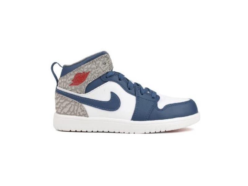 Air Jordan 1 Mid Flex PS True Blue