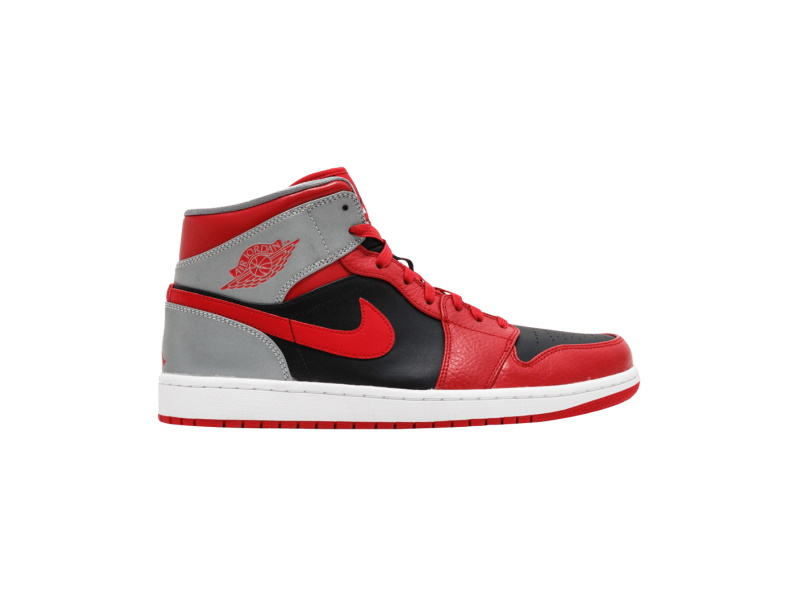 Air Jordan 1 Mid GS Fire Red