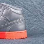 Air Jordan 1 Mid GS Metallic Silver Pink Crimson 5