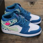 Air Jordan 1 Mid GS Paint Stroke 7
