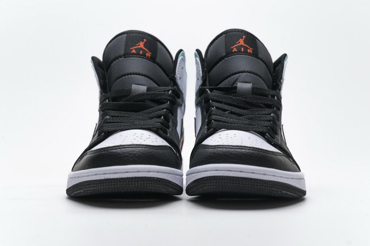 Air Jordan 1 Mid GS Red Mint 12
