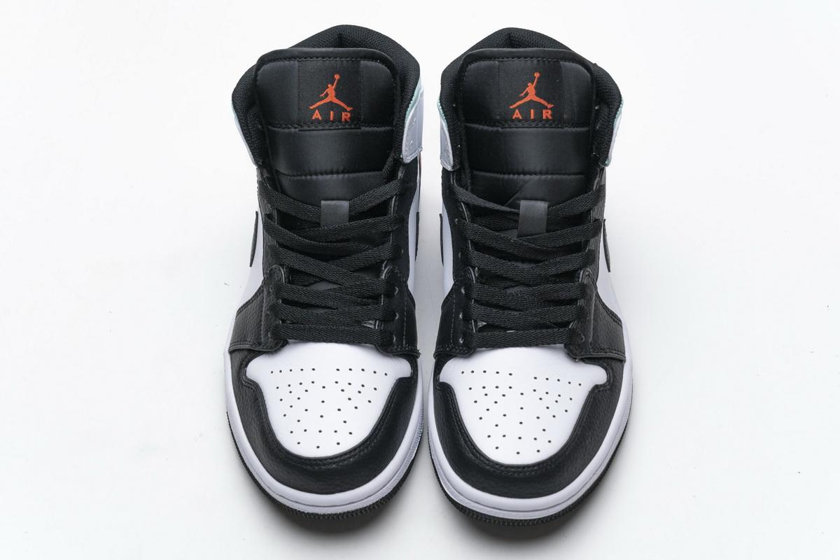 Air Jordan 1 Mid GS Red Mint 13