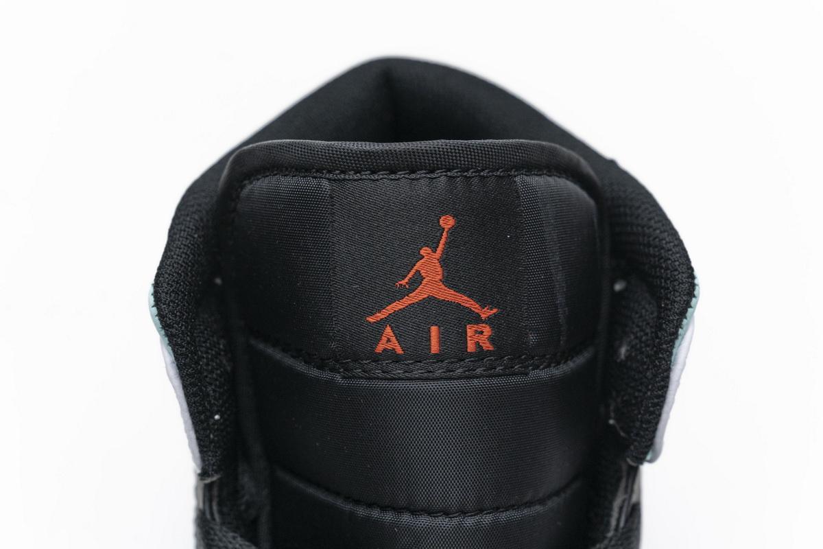 Air Jordan 1 Mid GS Red Mint 2