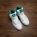 Air Jordan 1 Mid Mystic Green 11