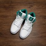 Air Jordan 1 Mid Mystic Green 12