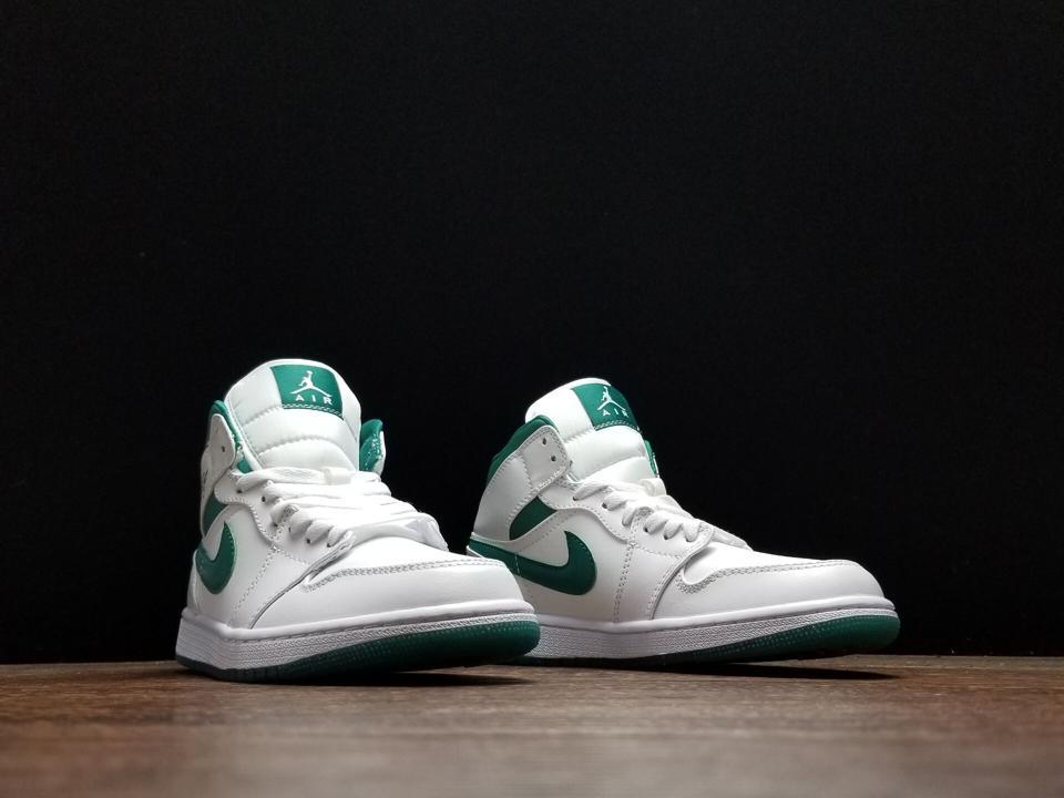 Air Jordan 1 Mid Mystic Green 5