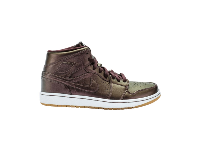Air Jordan 1 Mid Nouveau Deep Burgundy