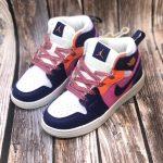 Air Jordan 1 Mid PS Fire Pink 3