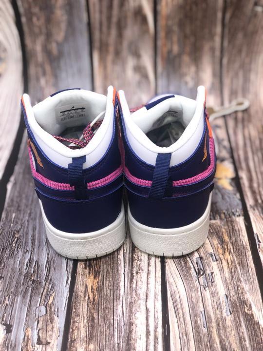 Air Jordan 1 Mid PS Fire Pink 5