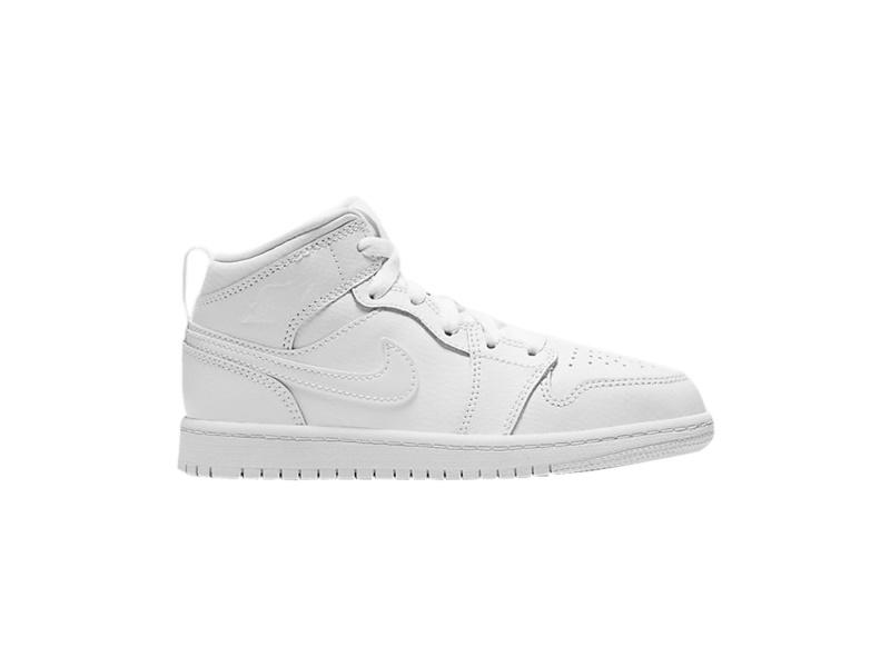 Air Jordan 1 Mid PS Triple White