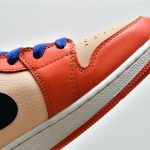 Air Jordan 1 Mid SE GS Team Orange 11