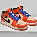 Air Jordan 1 Mid SE GS Team Orange 7