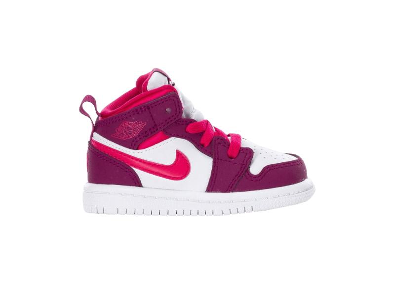 Air Jordan 1 Mid TD True Berry Rush Pink
