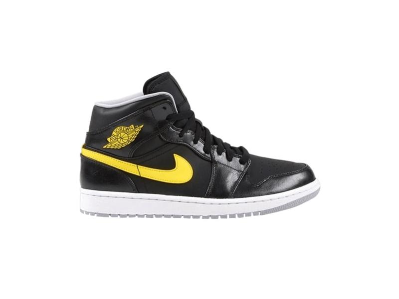 Air Jordan 1 Mid Yellow
