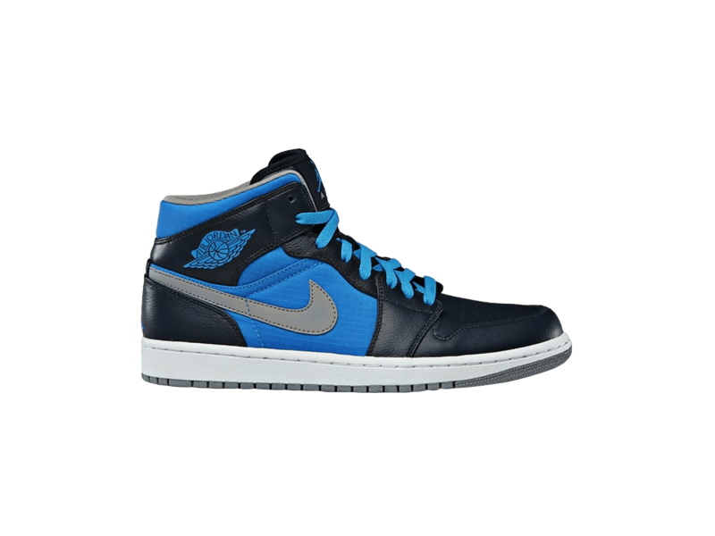 Air Jordan 1 Phat Mid Obsidian Photo Blue