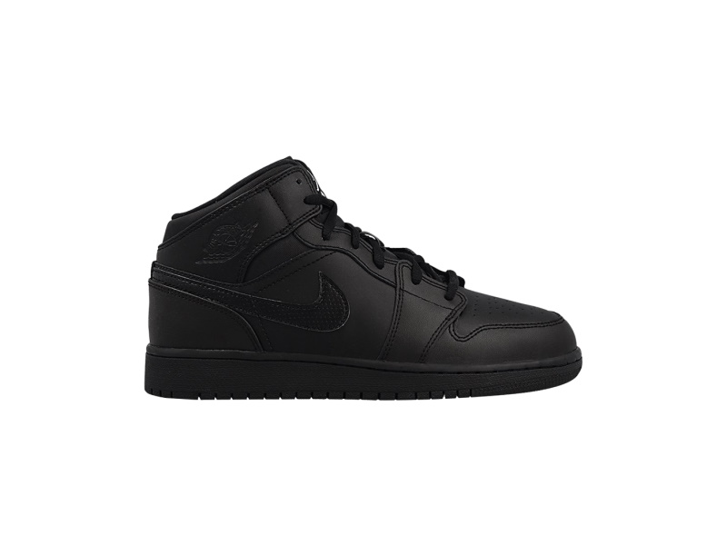Air Jordan 1 Retro Mid Black 2016 GS