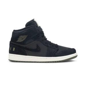Air Jordan 1 Retro Mid Black