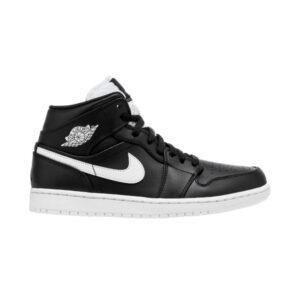 Air Jordan 1 Retro Mid Black White