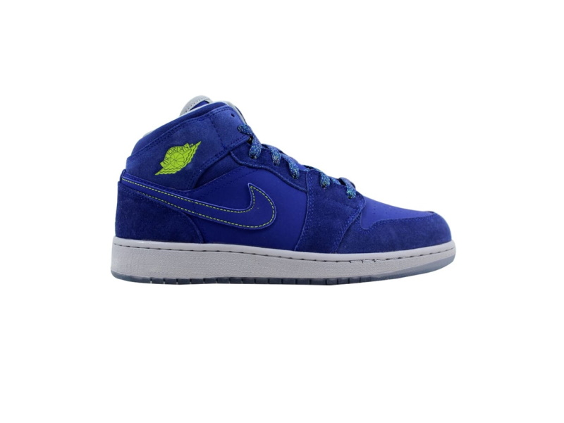 Air Jordan 1 Retro Mid GG Deep Royal Blue