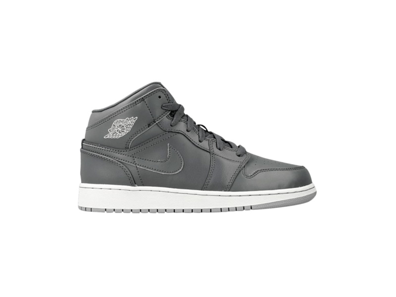 Air Jordan 1 Retro Mid GS Cool Grey Wolf Grey