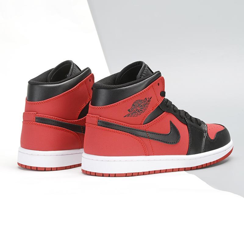 Air Jordan 1 Retro Mid GS Gym Red 1 1