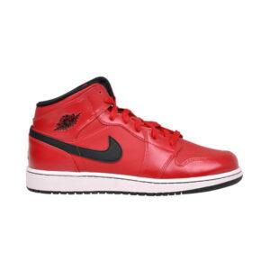Air Jordan 1 Retro Mid GS Gym Red 1