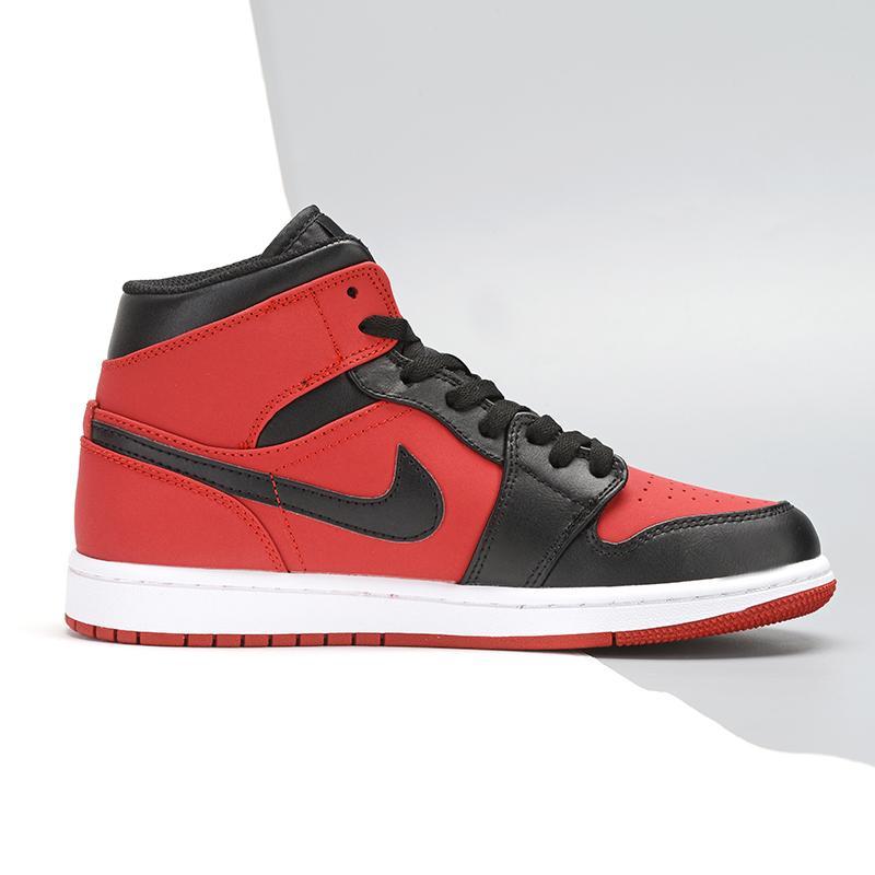 Air Jordan 1 Retro Mid GS Gym Red 2