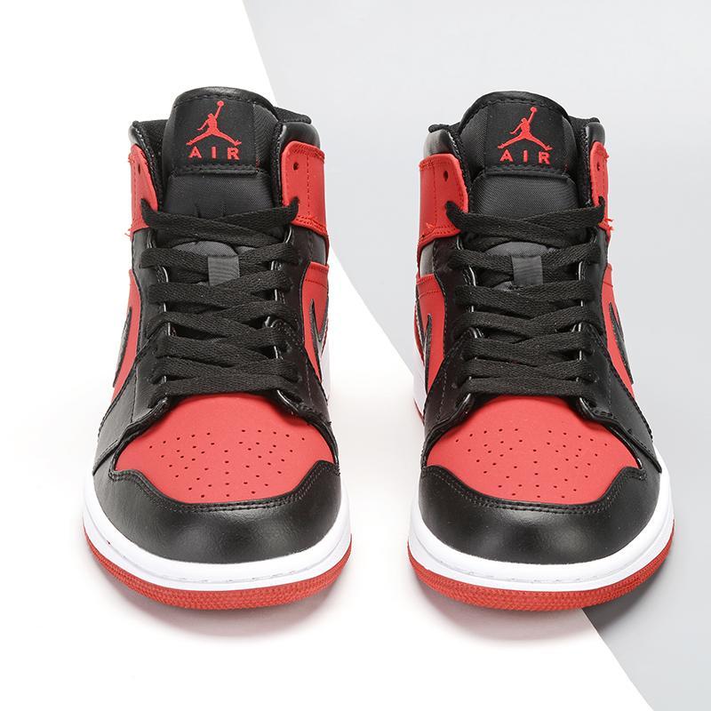 Air Jordan 1 Retro Mid GS Gym Red 3