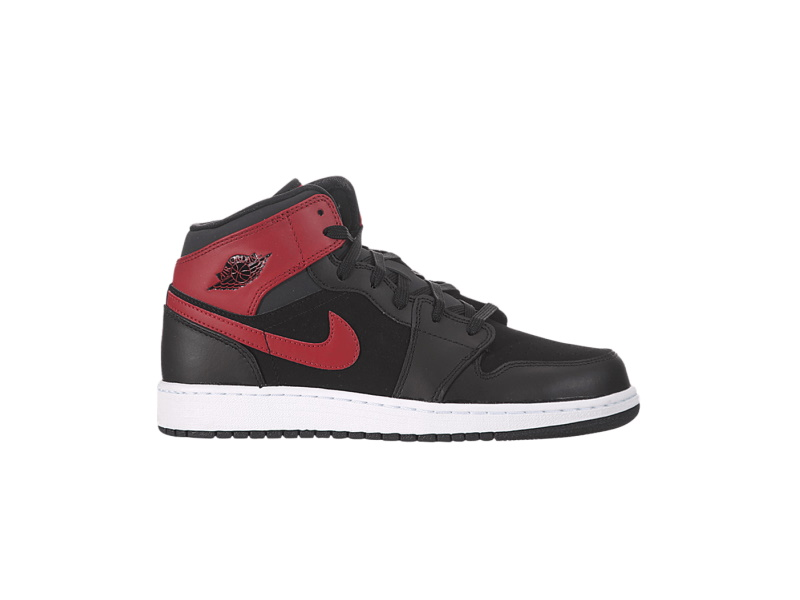 Air Jordan 1 Retro Mid GS Gym Red Anthracite