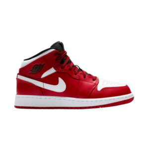 Air Jordan 1 Retro Mid GS Gym Red White