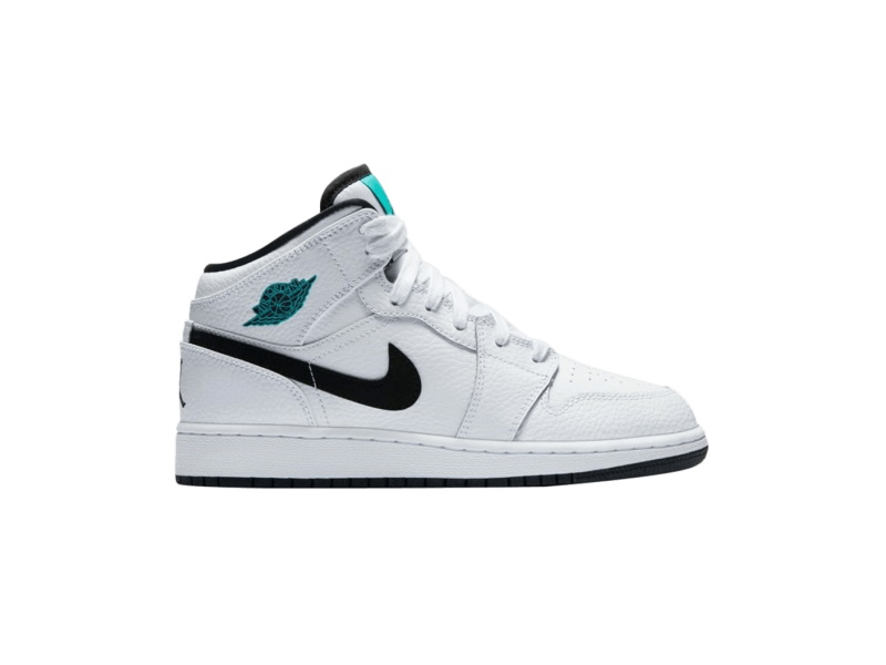 Air Jordan 1 Retro Mid GS Hyper Jade