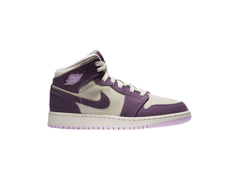 Air Jordan 1 Retro Mid GS Pro Purple