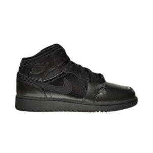 Air Jordan 1 Retro Mid GS Triple Black