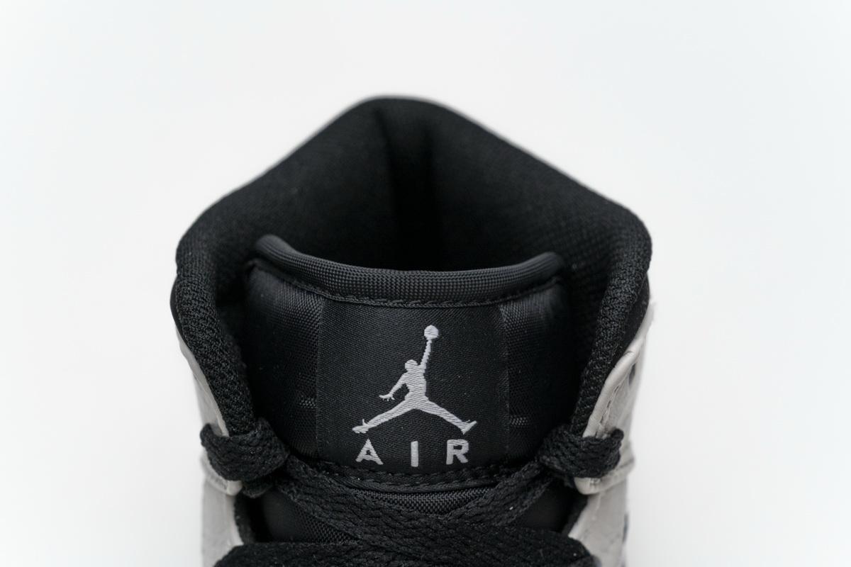 Air Jordan 1 Retro Mid GS White 10