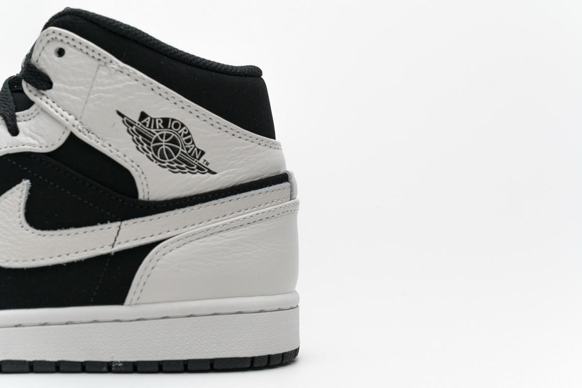Air Jordan 1 Retro Mid GS White 13