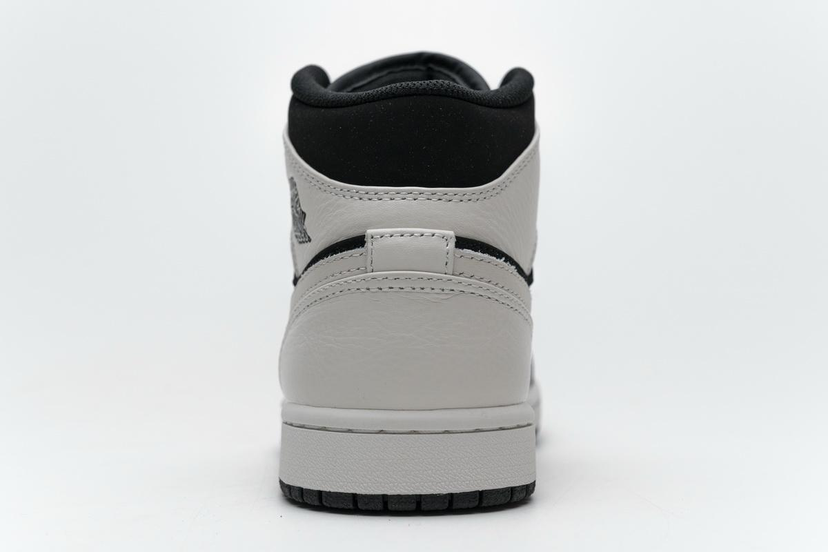 Air Jordan 1 Retro Mid GS White 15