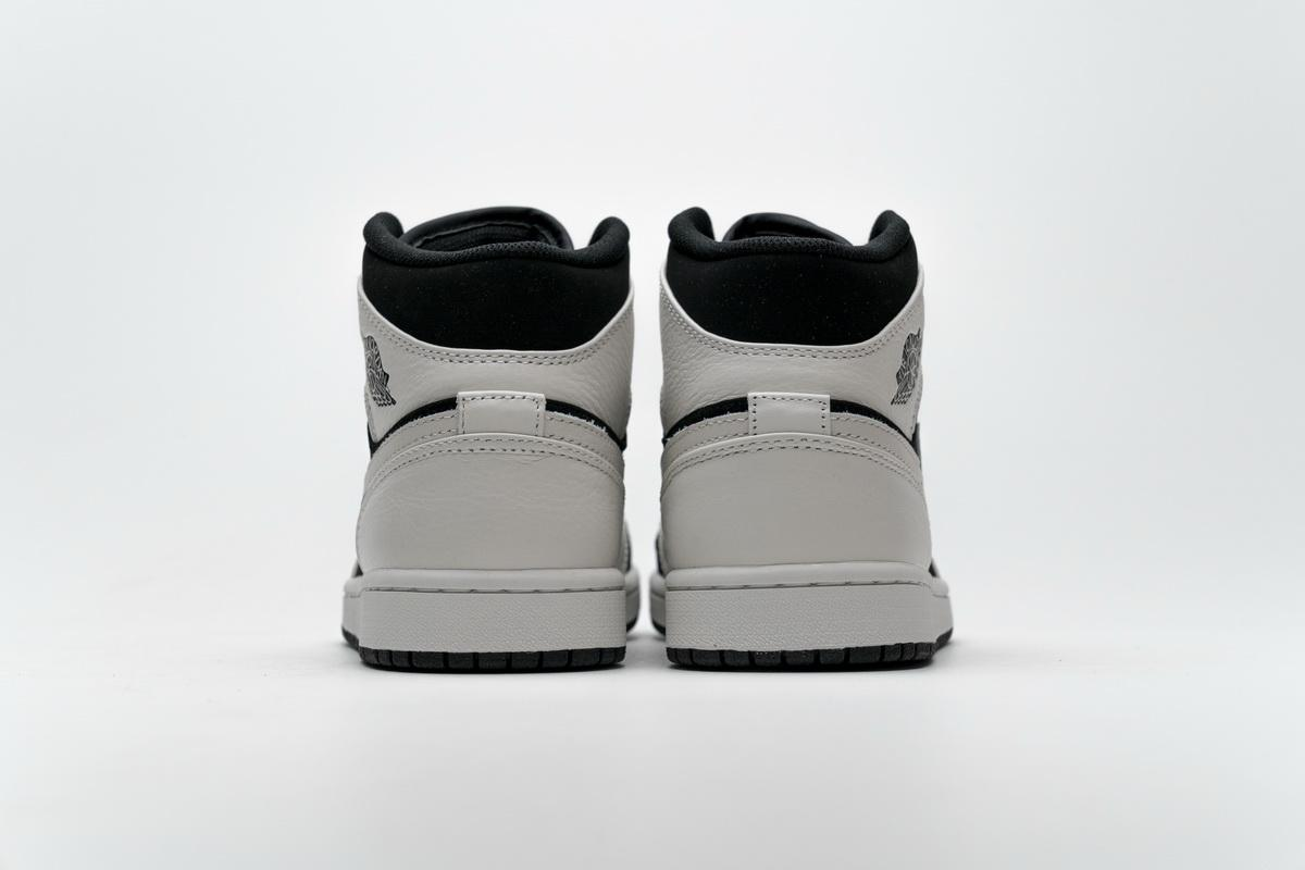 Air Jordan 1 Retro Mid GS White 7