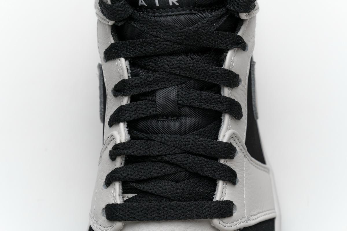 Air Jordan 1 Retro Mid GS White 9