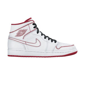 Air Jordan 1 Retro Mid GS White Gym Red