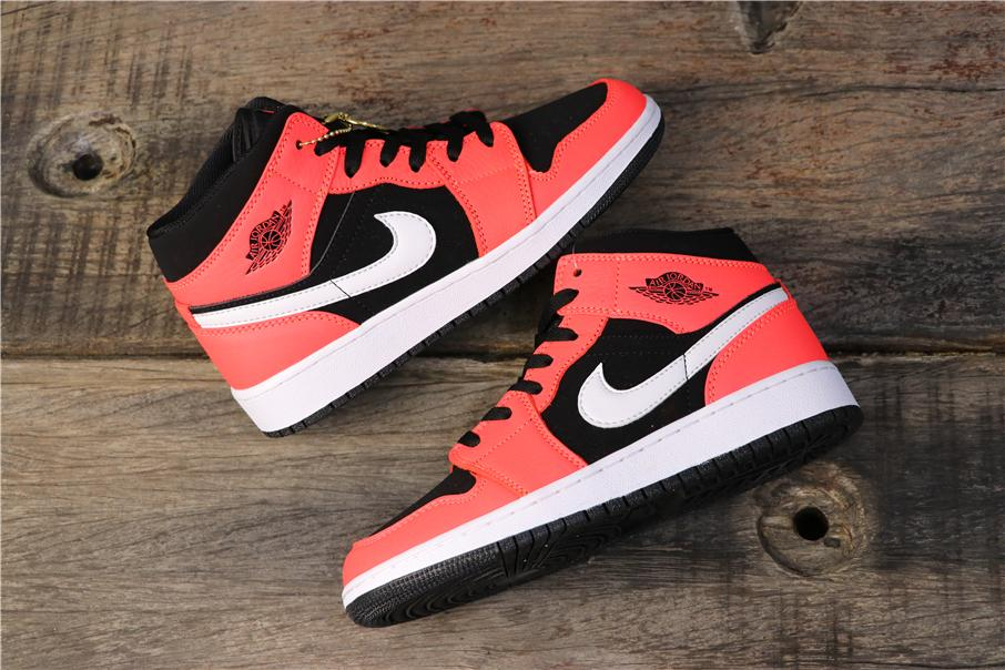 Air Jordan 1 Retro Mid Infrared 23 5