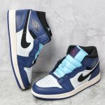 Air Jordan 1 Retro Mid SE Deep Royal Blue 7