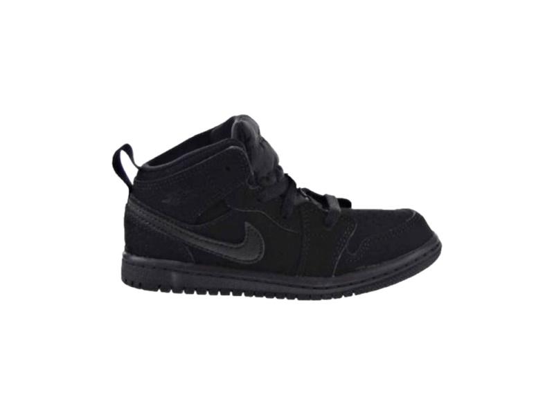 Air Jordan 1 Retro Mid TD Black 2