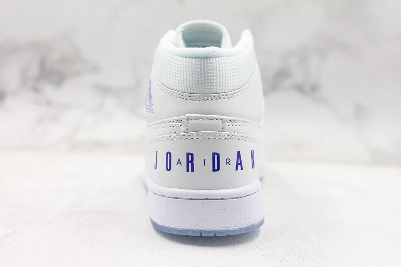 Air Jordan 1 Retro Mid White Concord 2