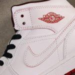Air Jordan 1 Retro Mid White Gym Red 1
