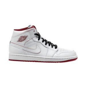Air Jordan 1 Retro Mid White Gym Red