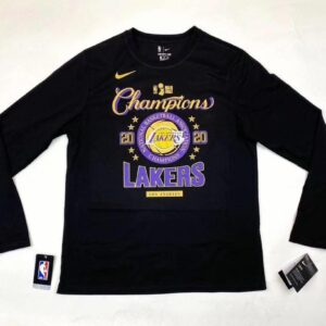 2020 Los Angeles Lakers NBA Champions Locker Room Longsleeve 1