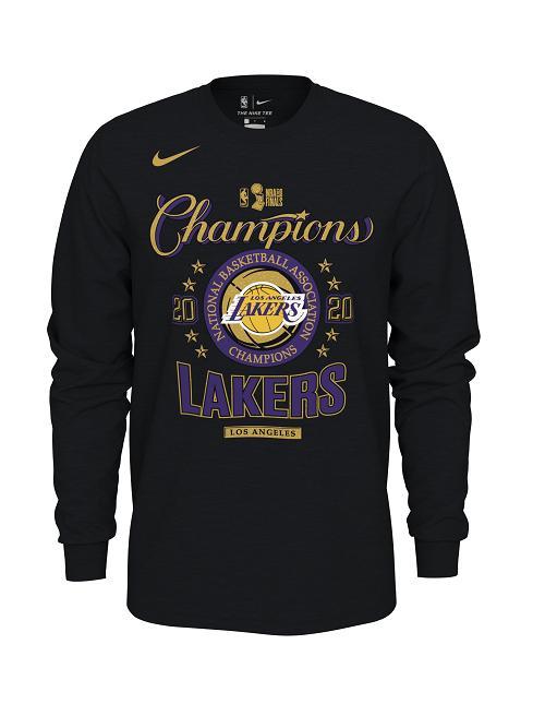 2020 Los Angeles Lakers NBA Champions Locker Room Longsleeve