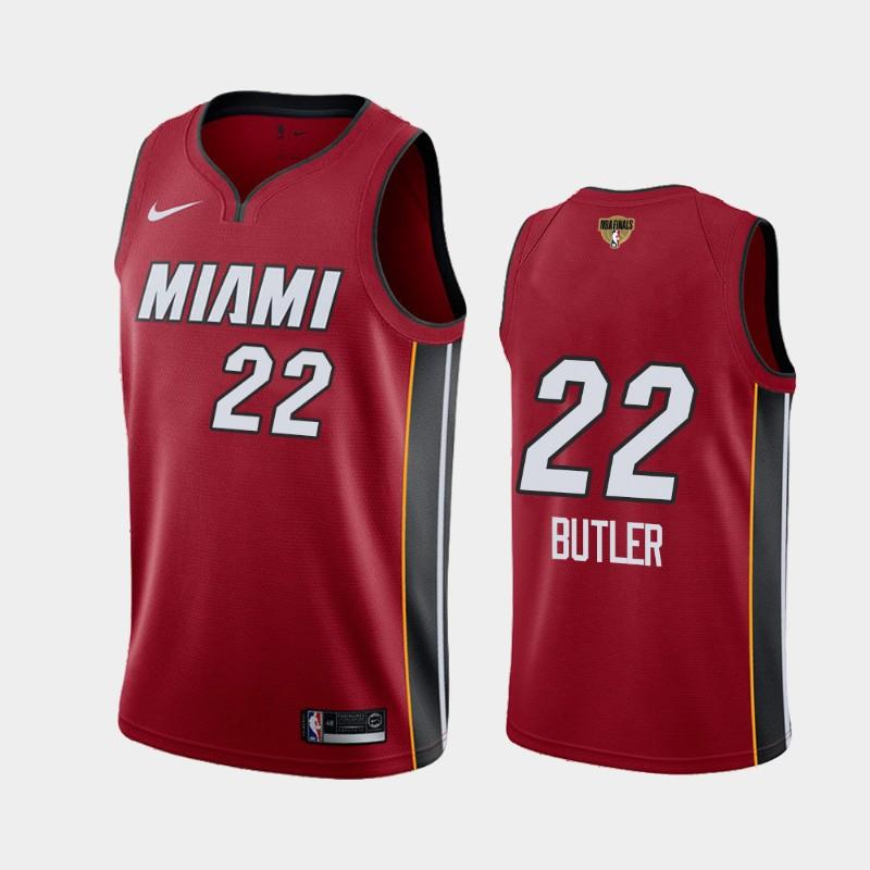2020 NBA Finals Bound Miami Heat Jimmy Butler 22 Red Social Justice Statement